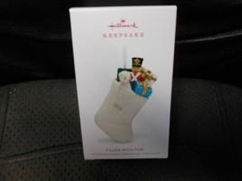 "Hallmark Keepsake ""Filled With Fun"" 2018 Porcelain Ornament NEW - $9.75"