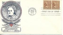 First Day Cover - Scott#840 1.5c Martha Washington WSE/Clifford Cachet - $3.47