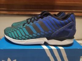 Adidas ZX Flux Xeon Bold Blue Men's Size 11 - $240.00