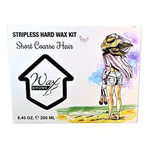 Wax at Home Microwavable White Tea Stripless Wax Kit 8.45 Oz. by Wax Necessities image 3