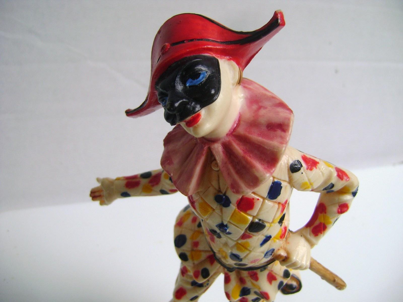 Italian Harlequin Jester