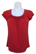 Roasted Red Pepper Top By Rafaella Size M New MSRP $50.00 - $9.99