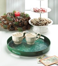 Christmas Green Snowflake Serving Tray, Tray for Displaying Ornaments, T... - €12,77 EUR