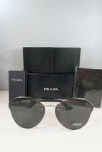 94d26220a688 Prada Women's Silver Sunglasses with box SPR 64T 1BC-5S0 66mm