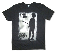 The Cure-Boys Don't Cry Retro-X-Large  Black T-shirt - $22.24