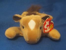 Ty Beanie Baby Derby the Horse Fine Mane Gasport Tag Error - $12.86