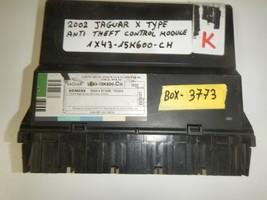 2002 JAGUAR X TYPE ANTI THEFT CONTROL MODULE 1X43-15K600-CH  ( BOX-3773) - $39.55