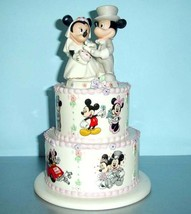 Lenox Disney Mickey Minnie's Wedding Day Wishes... - $88.90