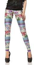 BadAssLeggings Women's Digital Art Leggings XL - $19.79