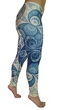 BadAssLeggings Women's Digital Design VIII Leggings Medium - $19.79