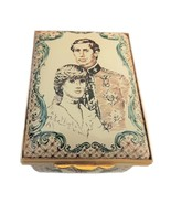 Halcyon Days Enamels Prince Charles & Lady Diana Wedding (Cream color) L... - $250.00