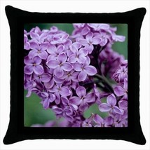 Pink Lilac Throw Pillow Case - $16.44