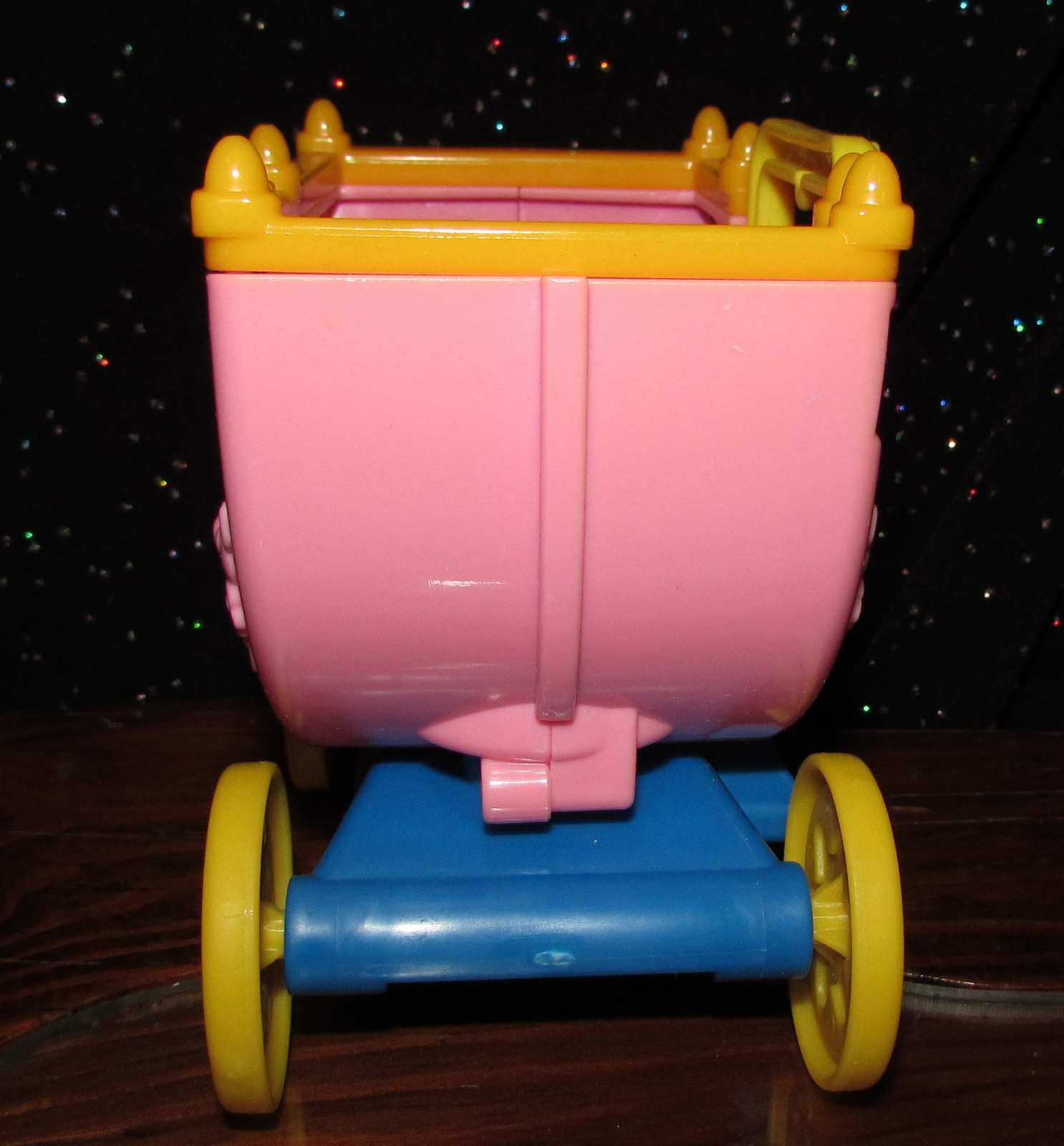 Fisher Price Little People Night Ball Lil' Kingdom Castle PINK Princess CARRIAGE