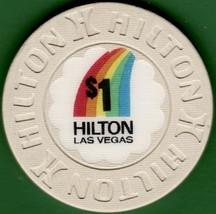$1 Casino Chip, Hilton, Las Vegas, NV. 1993. L15. - $12.50