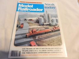 Model Railroader Magazine,November 1985 Issue - $7.12