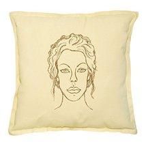 Vietsbay's Virgo Symbol Prints Khaki Decorative Pillows Case VPLC_02 - $13.59
