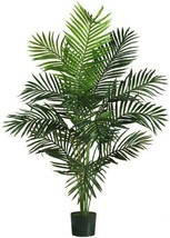 Green Artificial Palm Tree 5 Foot Nearly Natural Greenery Tropical Home ... - $84.11