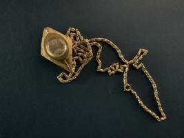 Glamour Vintage Ladies Analog Watch Necklace - $11.99