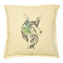 Fashionable Owl-22 Printed Khaki Decorative Pillows Cover Case VPLC_02 - $13.59