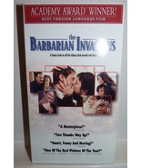 The Barbarian Invasions (VHS, Best Foreign Language Film) French with En... - $4.95