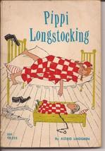 1968 Pippi Longstocking Astrid Lindgren Scholastic Books Paperback TX215 - $4.95