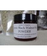 Organic Black Walnut Hull Powder Tea.  Anti-Parastitic/Worms - $8.99