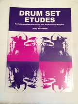 Drum Set Etudes BookJoel Rothman Intermediate Advanced Drumset Coordinat... - $12.82