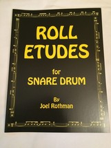 Roll Etudes for Snare Drum Joel Rothman 2015 Book Percussion - $12.82