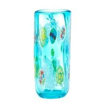 Blue Floral Straight Vase - $29.45