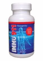 Youngevity Immu 911 60 capsules by Dr. Wallach - $37.57