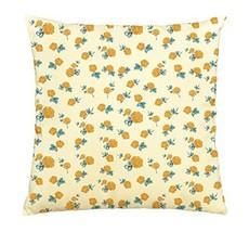 Yellow Roses 100% Cotton Decorative Throw Pillows Cover Cushion Case - $13.59