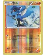 Riolu 45/124 Common Reverse Holo Fates Collide Pokemon Card - $1.09