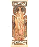 Mucha Moet & Chandon Champagne Poster 12x36 Alphonse Mucha Art Nouveau A... - $24.99