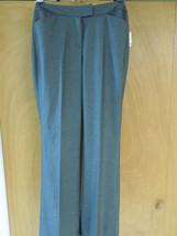 New Calvin Klein women's dress slacks charcoal grey size 10 poly blend - $40.19
