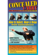 CONCEALED CARRY PISTOL TIPS,TECHNIQUES AND SECRETS OF THE PROS VHS LENNY... - $12.18
