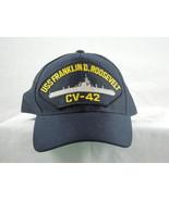 US Franklin D Roosevelt CV-42 snapback hat U.S navy - $23.33