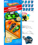 Hot Wheels stickers Roomscapes repositional peel and stick - $9.48