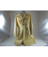 VINTAGE MOD FLEET STREET WOMANS RAINCOAT SIZE 16 TRENCH COAT MADE IN JAPAN - $84.14