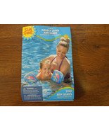 Swim Arm Bands- Two 9 inch Double Layer water wings-ages 3-6- Dolphin print - $5.62