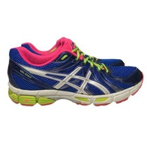 Asics Gel Exalt Womens Size 11 Blue White Running Athletic Shoes T379Q - $39.93