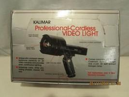 Kalimar Video Camcorder Light Outfit DCS-25 Hig... - $37.39