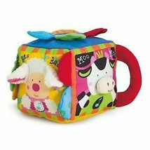 Melissa & Doug Learning Toy Musical Farmyard Cube Cheerful Sounds Textured BOXED - $19.59