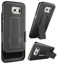 Samsung Galaxy S6 Thin Belt Case & Belt Clip Holster w/ KickstandEncased... - $10.95