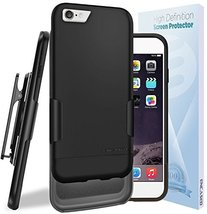iPhone 6 Belt Clip Case Premium Tough Protection and Holster (w/ screen ... - $14.99