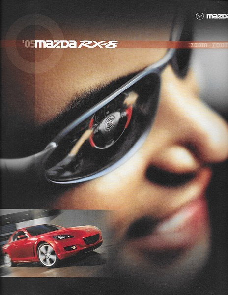 Primary image for 2005 Mazda RX-8 sales brochure catalog 05 US Grand Touring