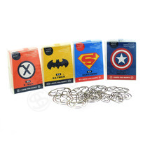 9Pcs Superhero Paper Clip Stylish Cool Student ... - $6.92