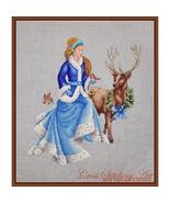 Winter Fairy Tale cross stitch chart Cross Stitching Art - $13.50