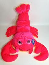 "Goffa Red Lobster Plush Soft Toy Stuffed Animal Orange Crab Big Pink Eyes 20"" - $29.99"