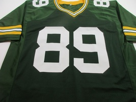 DAVE ROBINSON / NFL HALL OF FAME / AUTOGRAPHED GREEN BAY PACKERS CUSTOM JERSEY image 2