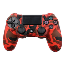 Army red design Cover Case Protection Skin For Sony PS4 controller - $10.00